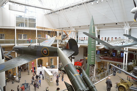 Imperial War Museum-interior